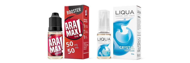 LIQUA | ARAMAX - Booster de nicotine pack de 10