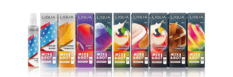 E-liquides Liqua 50 ml + 20 ml