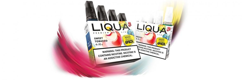 E-liqudes Liqua 10 ml pack de 20