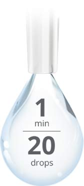 20 gouttes de liquide